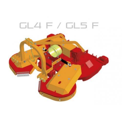 Fischer GL 4 - F , FIX,  přední zapojení