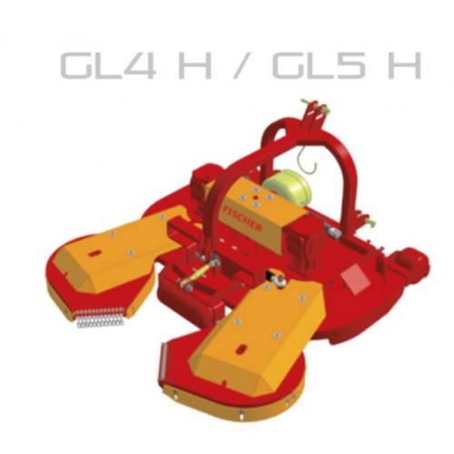 Fischer GL 4 - H  zadní zapojení, boční posun