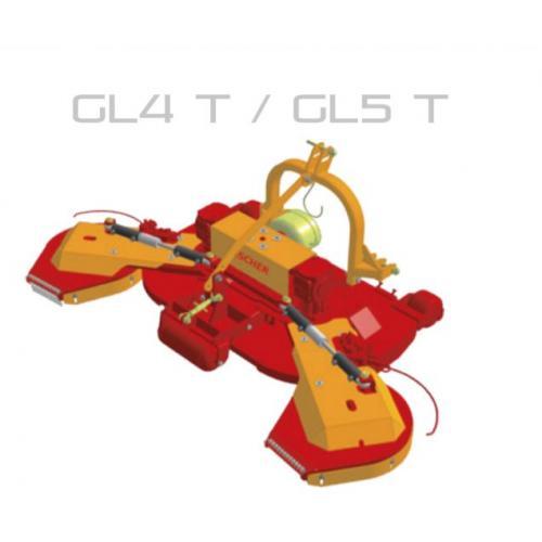 Fischer GL 4 - T, FIX zadní zapojení, oboustranné obcházeče
