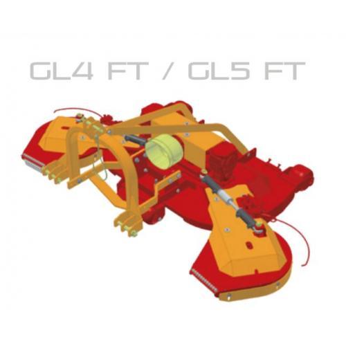 Fischer GL 4 - FT, FIX, přední zapojení, oboustranné obcházeče
