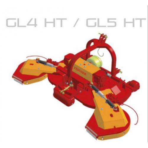 Fischer GL 4 - HT, zadní zapojení, boční posun, oboustranné obcházeče