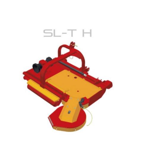 Fischer SL - TH, zadní připojení, boční posun, obcházeč