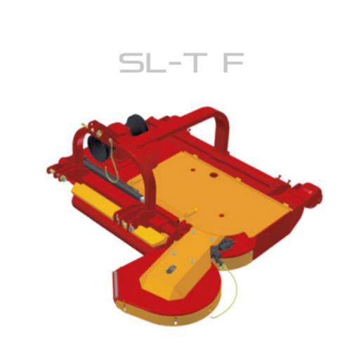 Fischer SL - TF, přední připojení, boční posun, obcházeč