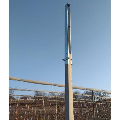 Nástavec na betonové sloupy s vrchní fixací 7x8 cm