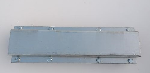 Opravná ocelová bandáž na betonové sloupy 9x9 pozinkovaná