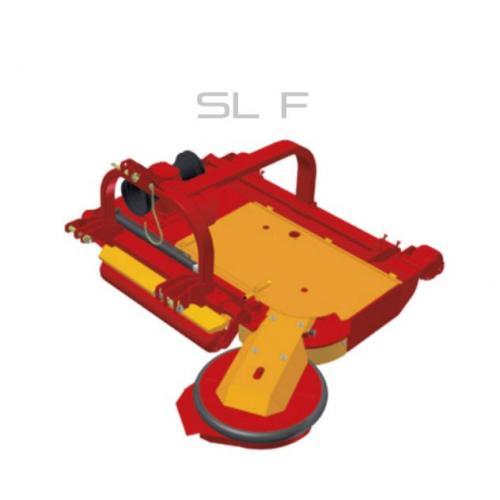 Fischer SL - F, přední zapojení, boční posun
