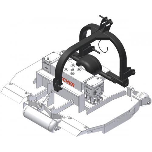 Fischer  GL2 FIX zadní připojení