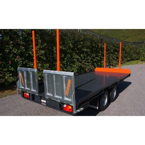 Transportér strojů a pracovních plošin dvojosý