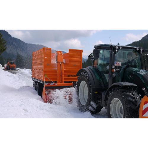 Nástavba pro úklid sněhu