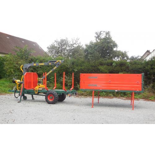 Nástavba pro převoz dřeva