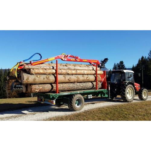 Univerzální lesní vlek na dřevo jednoosý