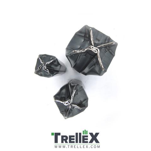 Zakončení  ocelového sloupku Trellex