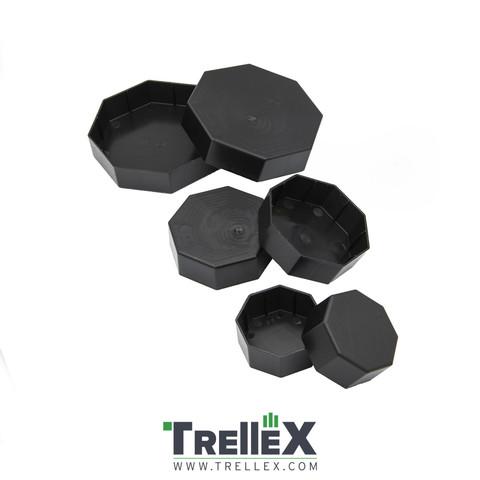 Krytka plastová na sloupek Trellex