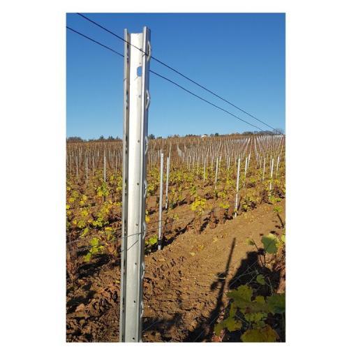 Vinařský sloupek NS koncový, délka 2,5m
