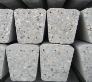 Sloup betonový 9x9,5 - 4,5 m